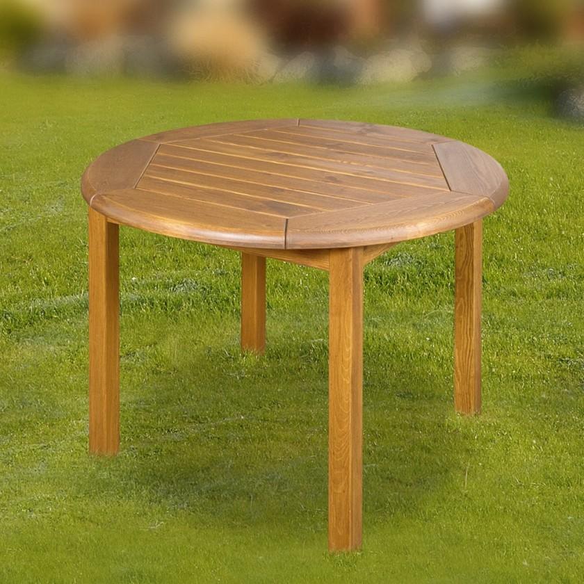 Záhradný stôl Leny - Stôl (prírodný - bezfarebne impregnované)