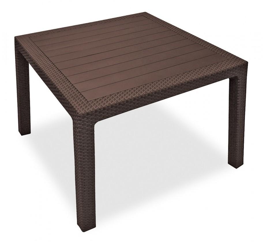 Záhradný stôl Melody - Stôl, 95 cm (hnedá)