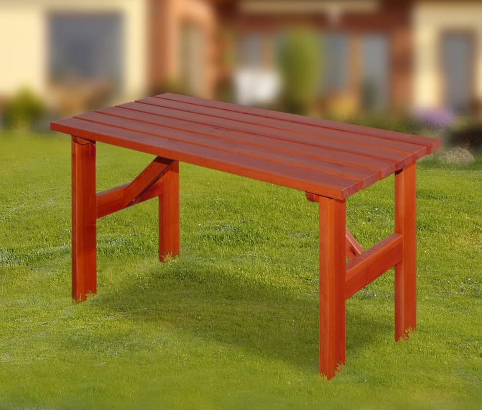 Záhradný stôl Porto - Stôl (mahagón)