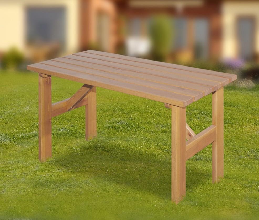 Záhradný stôl Porto - Stôl (prírodný - bezfarebne impregnované)