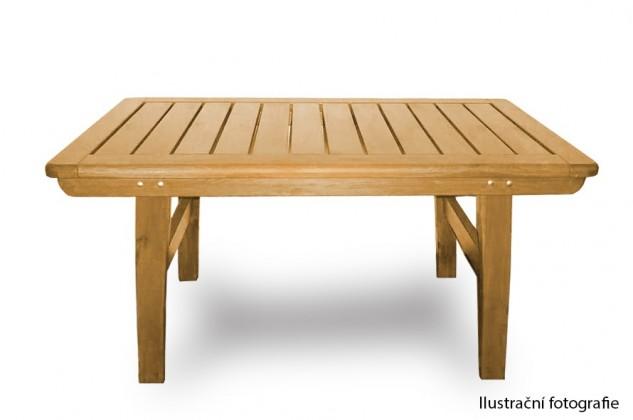 Záhradný stôl Valencia - Stôl (prírodné bez povrchovej úpravy)