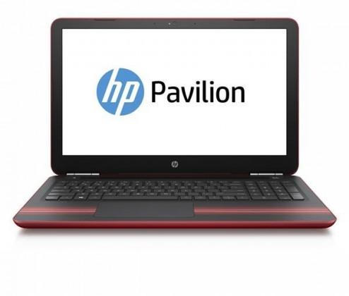 Základné HP Pavilion 15-au007 F6Q17EA, čierna/červená