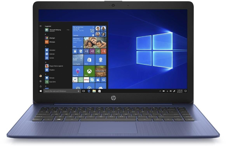 "Základné Notebook HP 14-ds0006nc 14"" AMD A4 4GB, 64GB, Blue"