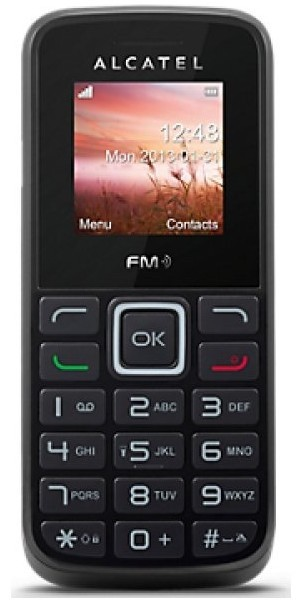 Základný telefón ALCATEL ONETOUCH 1010D Black