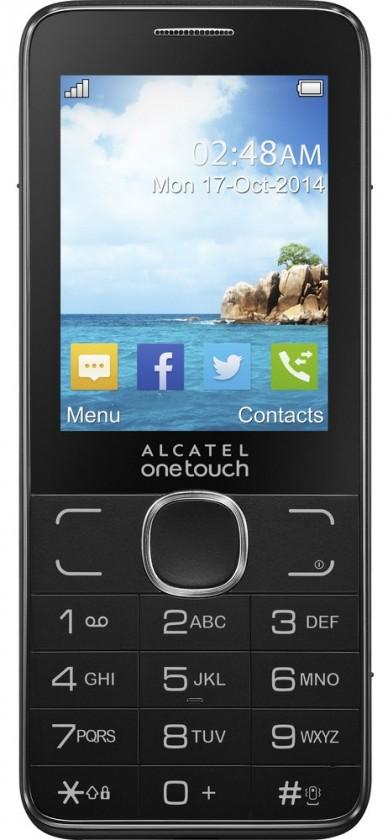 Základný telefón ALCATEL ONETOUCH 2007D Dark Grey ROZBALENÉ