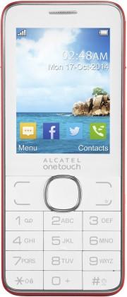 Základný telefón ALCATEL ONETOUCH 2007D Red ROZBALENO