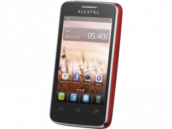 Základný telefón ALCATEL ONETOUCH 3040D TRIBE Cherry Red ROZBALENO
