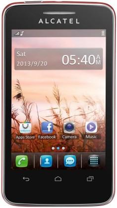 Základný telefón  ALCATEL ONETOUCH TRIBE (3040D) Cherry Red