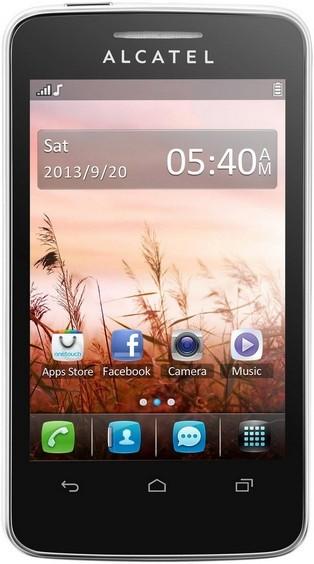 Základný telefón ALCATEL ONETOUCH TRIBE (3040D) Pure White