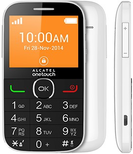 Základný telefón Alcatel OT-2004C white