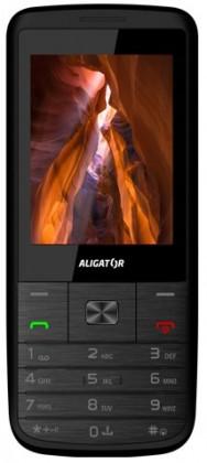 Základný telefón Aligator D920 Dual SIM, černo-strieborna