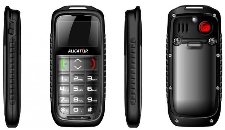 Základný telefón  Aligator R5 outdoor Gray