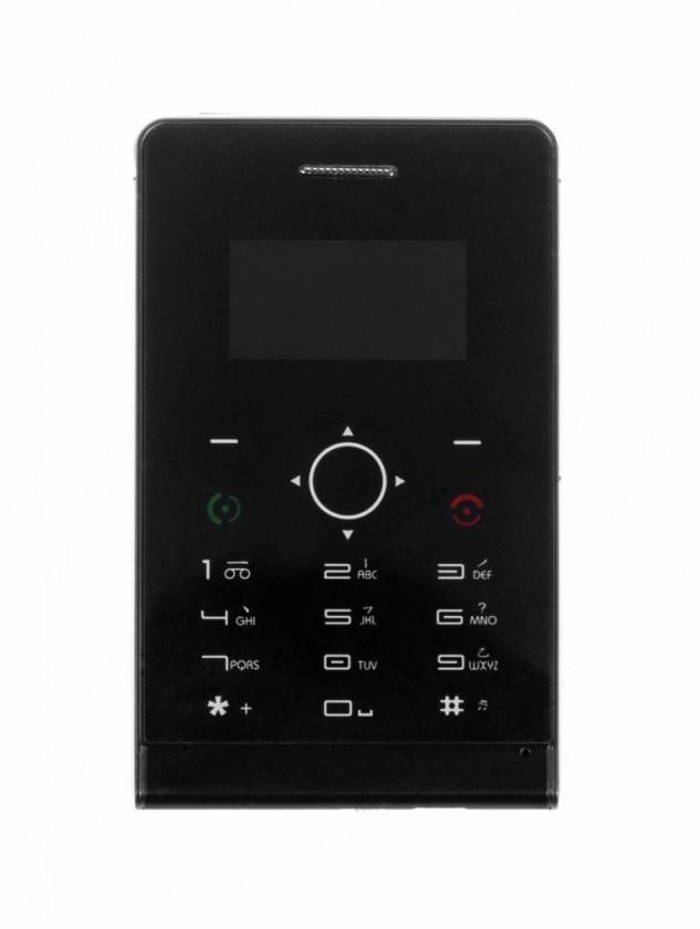 Základný telefón APEI X1 Slim Metal, čierna