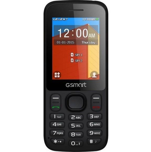 Základný telefón GIGABYTE GSmart F240 Dual SIM čierny