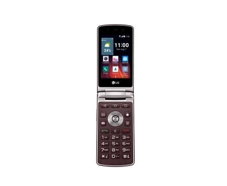 Základný telefón LG Wine Smart (H410) Burgundy Red