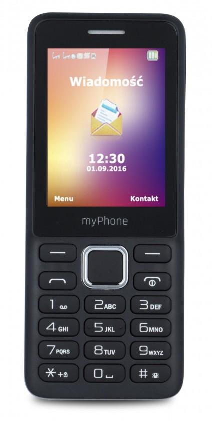 Základný telefón myPhone 6310 čierna