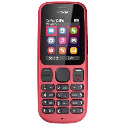 Základný telefón  Nokia 101 Red
