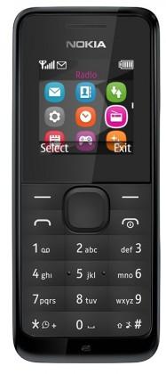 Základný telefón Nokia 105 Black
