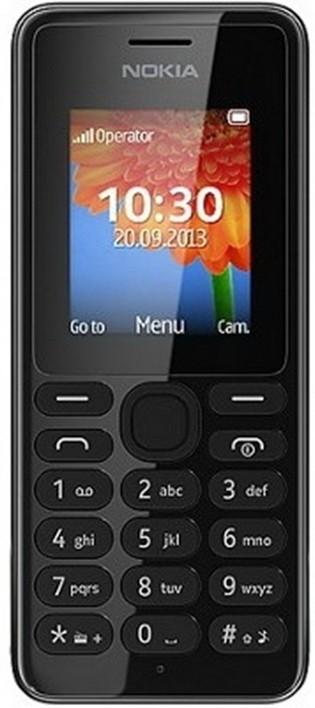 Základný telefón Nokia 108 Dual SIM Black