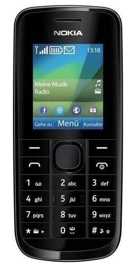 Základný telefón  Nokia 113 Black
