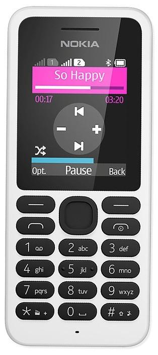Základný telefón Nokia 130 Dual SIM White ROZBALENÉ