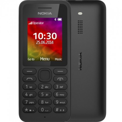 Základný telefón Nokia 130 Single SIM, čierna