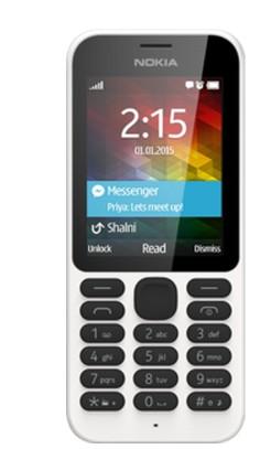 Základný telefón Nokia 215 Dual SIM White