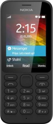 Základný telefón Nokia 215 Single SIM Black ROZBALENÉ