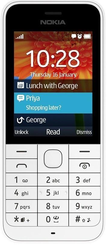 Základný telefón Nokia 220 Dual SIM White ROZBALENÉ