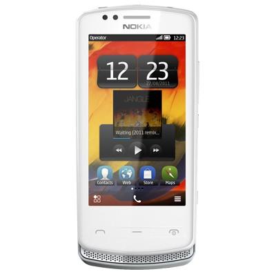 Základný telefón  Nokia 700 Silver/White