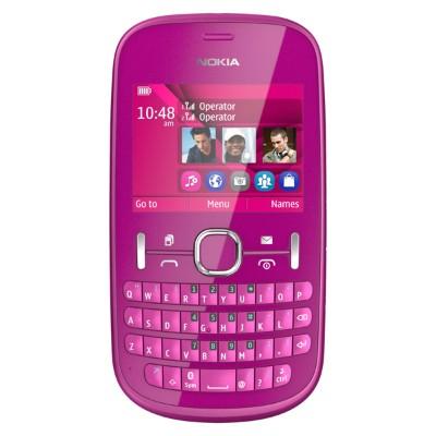 Základný telefón  Nokia ASHA 200 Pink