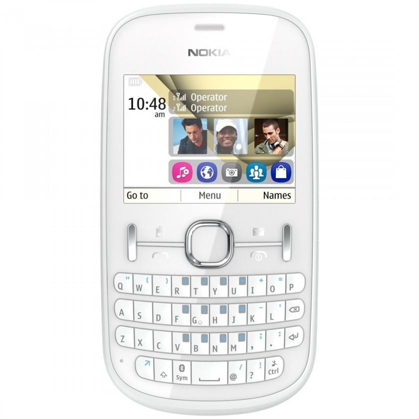 Základný telefón  Nokia ASHA 200 White