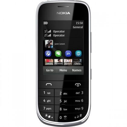 Základný telefón  Nokia Asha 202 White