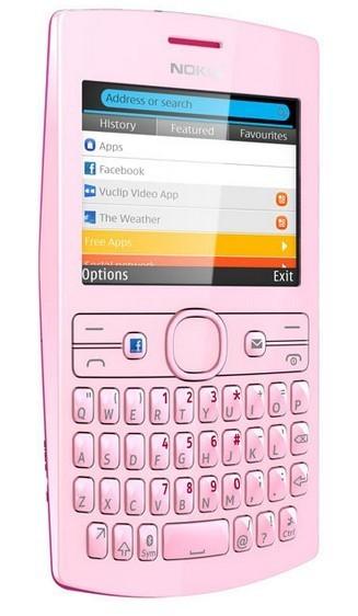 Základný telefón Nokia Asha 205 (Dual SIM) Magenta-Soft Pink