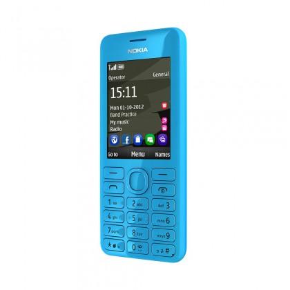 Základný telefón Nokia Asha 206 DS Cyan ROZBALENO