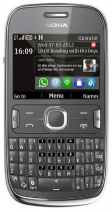 Základný telefón  Nokia ASHA 302 Grey