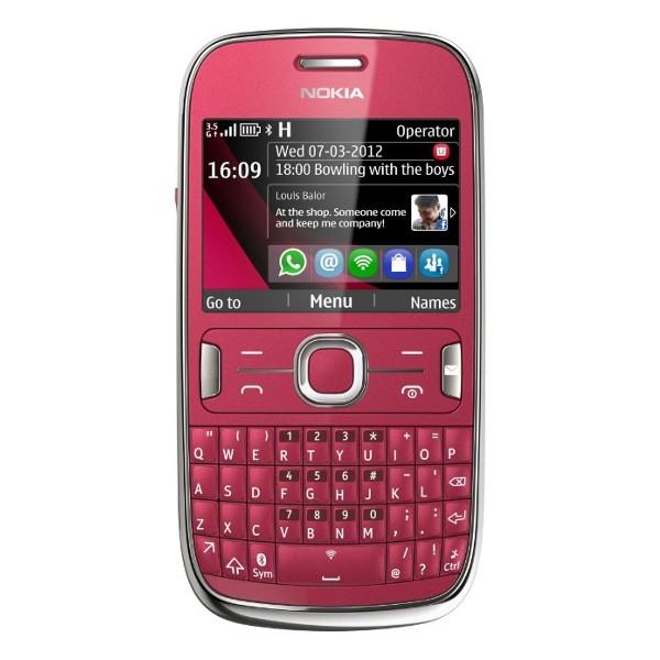 Základný telefón  Nokia Asha 302 Red