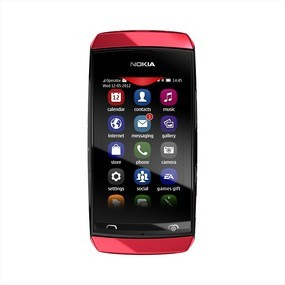 Základný telefón  Nokia ASHA 305 Red
