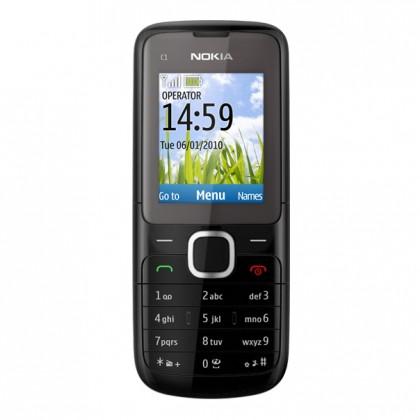 Základný telefón  Nokia C1-01 Dark Grey