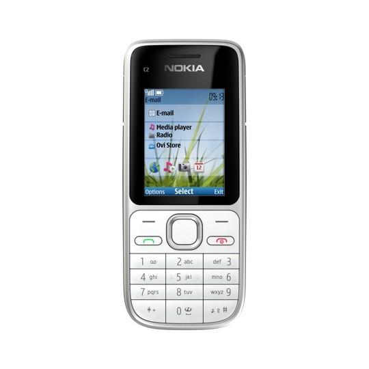 Základný telefón  Nokia C2-01 Silver