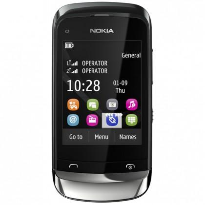 Základný telefón  Nokia C2-06 Graphite