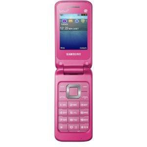 Základný telefón Samsung C3520, ružový