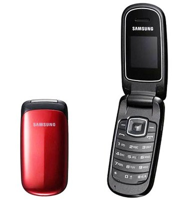 Základný telefón Samsung E1150, červený