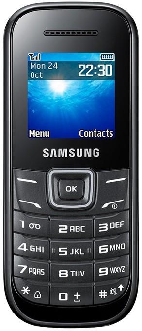 Základný telefón Samsung E1200, čierny