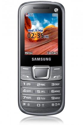 Základný telefón Samsung E2250, biely