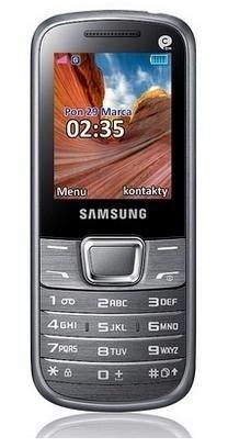 Základný telefón Samsung E2250, stříbrný ROZBALENO