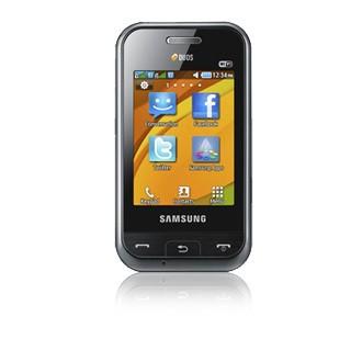 Základný telefón Samsung E2652, čierny