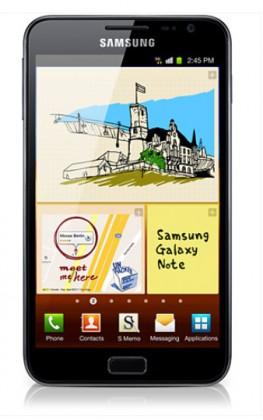 Základný telefón Samsung Galaxy Note (i9220), modrý