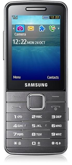Základný telefón Samsung (S5610), stříbrný ROZBALENO