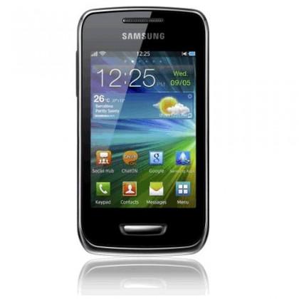 Základný telefón Samsung Wave Y (S5380), strieborný